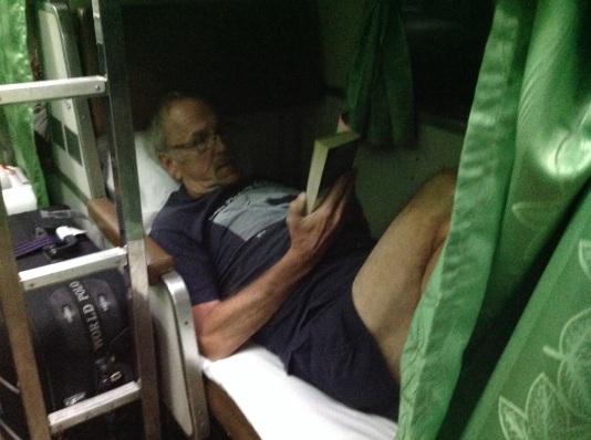 Bob's lower berth