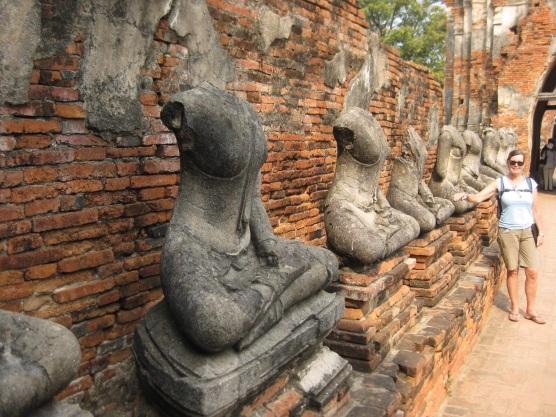 Headless statues