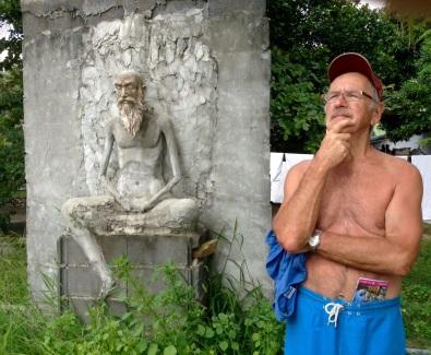 Yogi Bob contemplating life