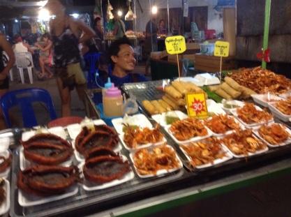 Night market street eats