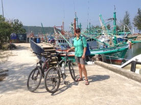 Bike riding in Koh Pha Ngan