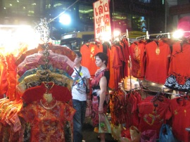 China Town night market