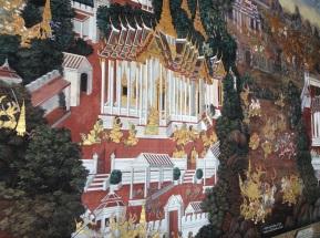 Ramakian mural