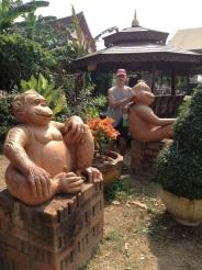 Bob monkeying around