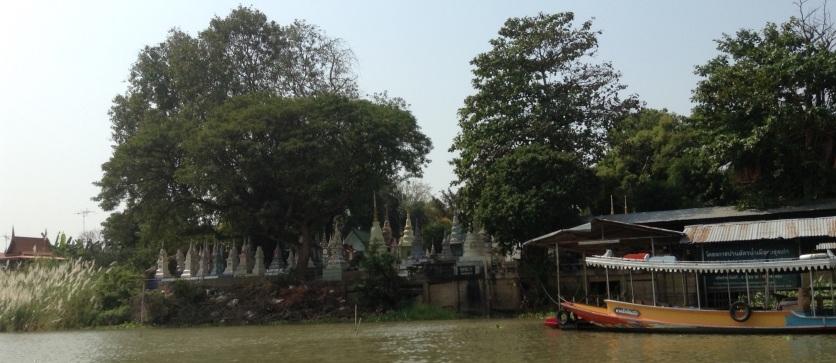 Riverside graveyard