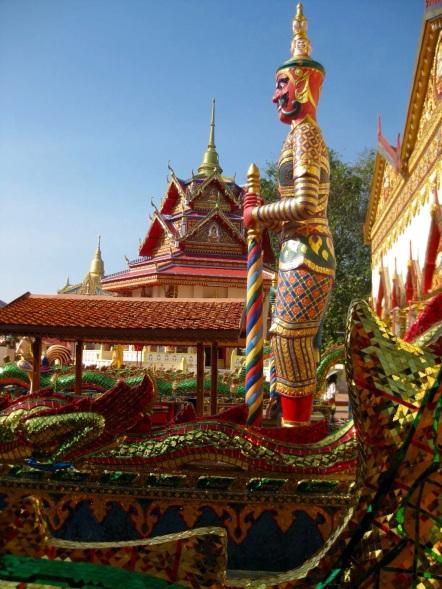 Wat Chaiyamangalaram Guard