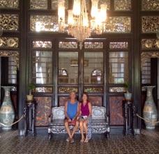Inside Chong Fatt Tse mansion-beautify restore & great history