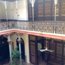 Chong Fatt Tse mansion-8 pillars for good Feng Sui