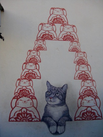 Love me like your fortune cat