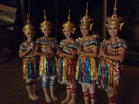 Traditional Thai Manora dancers