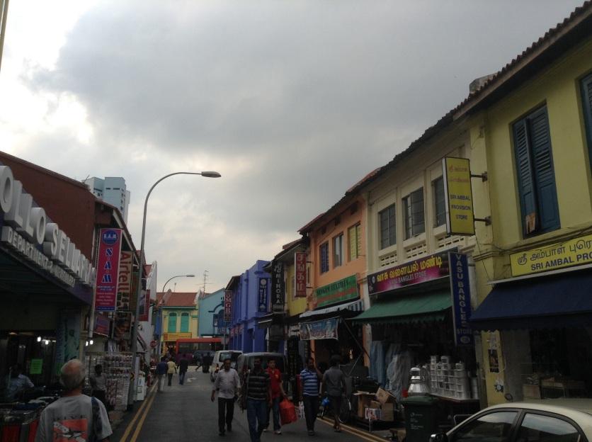 Little India streetscape