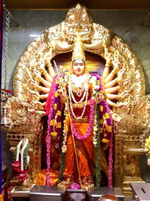 Beautiful Hindu goddess-Little India