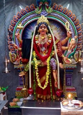 Scarey Hindu goddess-Little India