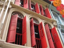 Singapore shutters