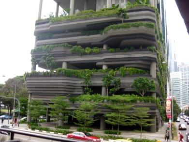 Garden apartment complex
