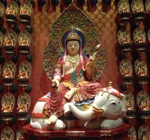 Buddha -Theresa's personal guardian deity