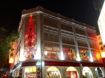 China Town-Singapore
