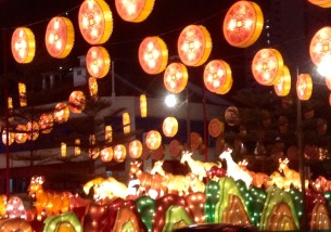 2015 Chinese New Year street decorations