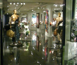 One of many art galleries