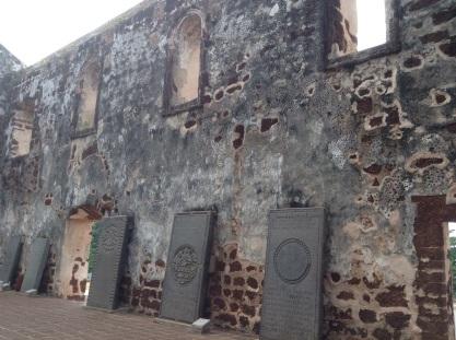 St. Paul's Church-Dutch tombstones