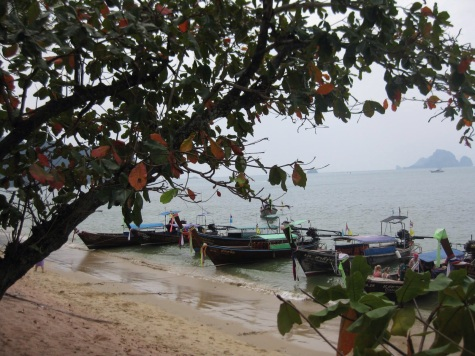 Longboats - Ao Nang Beach, Krabi
