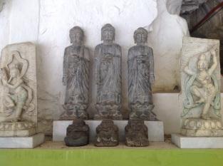Hear, speak, see no evil Buddahs