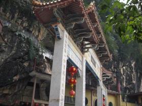 Sam Poh Tong temple entrance