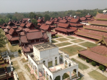Grand palace grounds