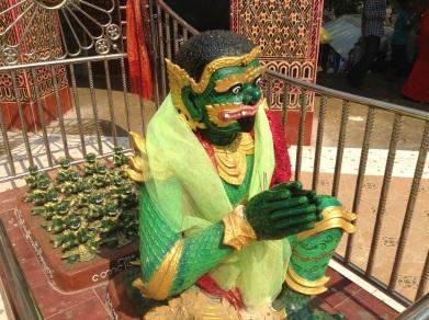 Temple guardian or David Suzuki?