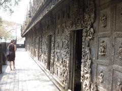 Shwenandaw monastery carvings