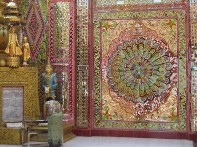 Temple Mosaic wall