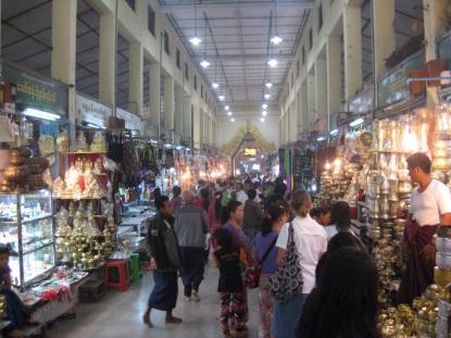 Temple stalls