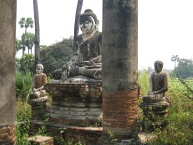Yadana Hsimi Pagoda ruins
