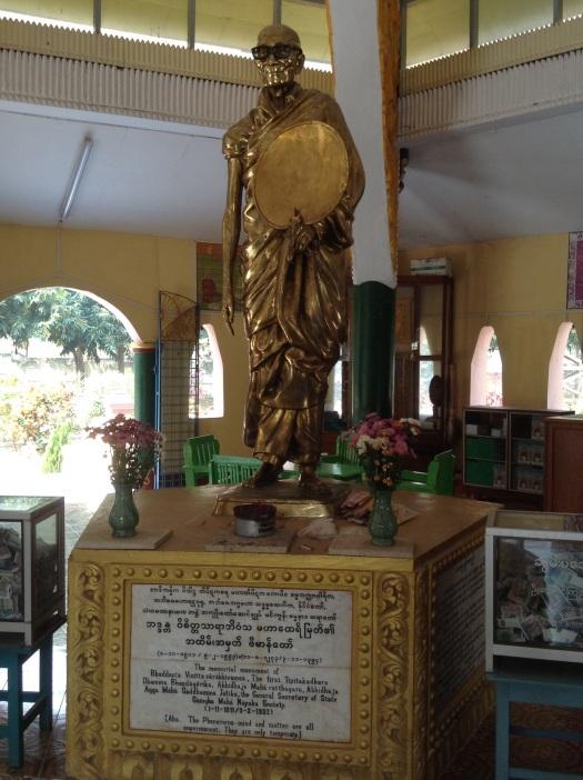 Mingun bespectacled Buddha