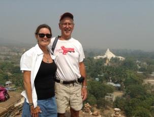 Top of Mingun pagoda