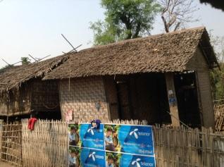 Inwa bamboo house