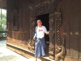 Nagana Teak monastery- Inwa