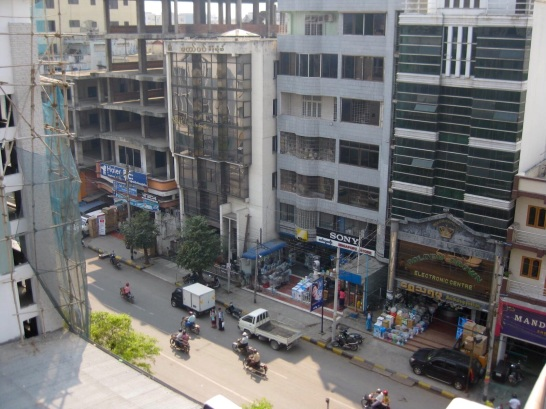 Mandalay streetscape