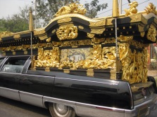 Fancy hearse