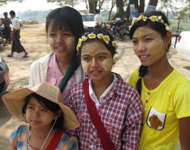 Beautiful Inwa girls