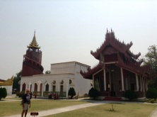 Royal Palace grounds, Mandalay