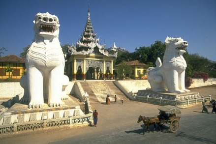 Mandalay Hill entance