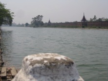Grand Palace moat
