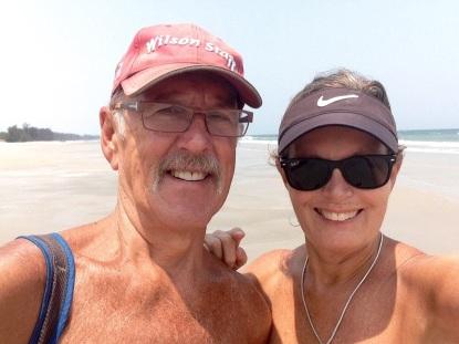 Hello Hua Hin - beach selfie
