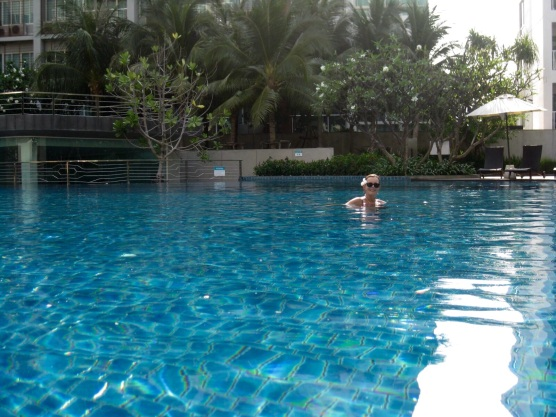 Really enjoying the pool