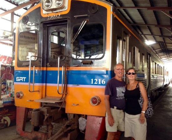 Maeklong Train Station