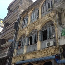 Burma, Chinese building