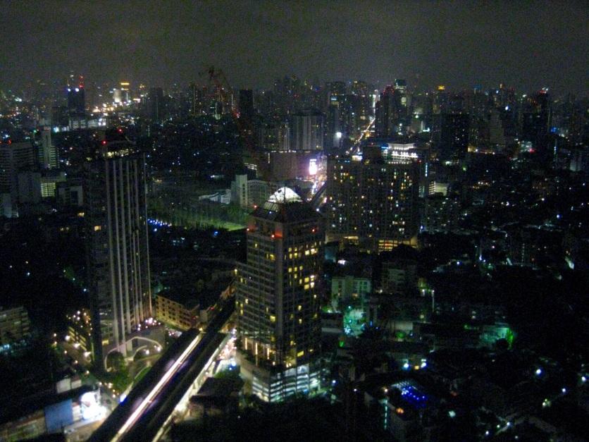 Bangkok night lights