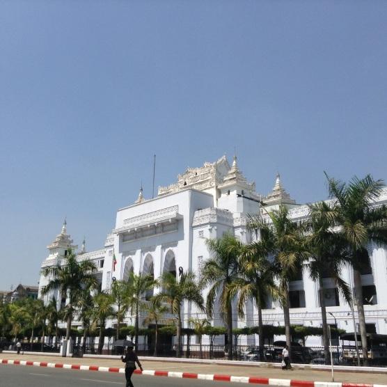 Yamgon city hall