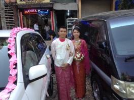 Yangon newlyweds
